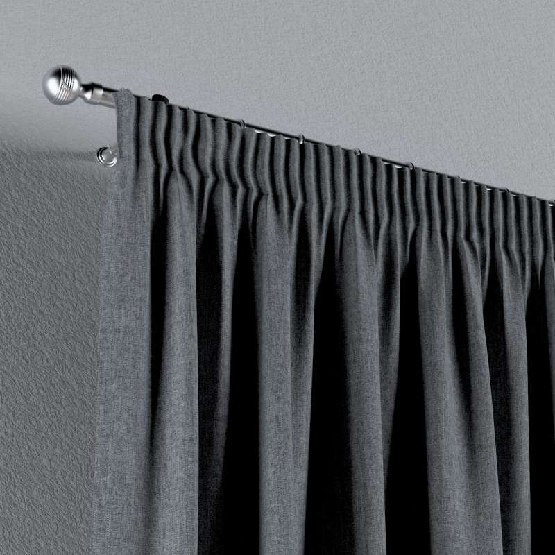 Pencil pleat curtain in collection City, fabric: 704-86