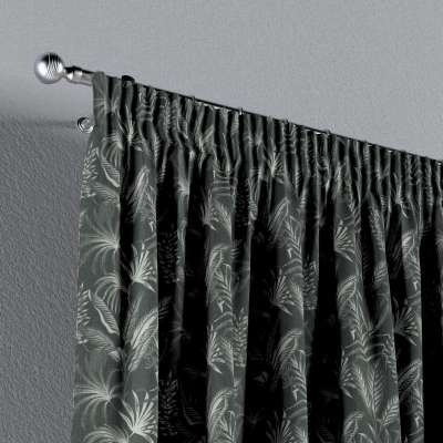 Vorhang mit Kräuselband von der Kollektion Flowers, Stoff: 143-73