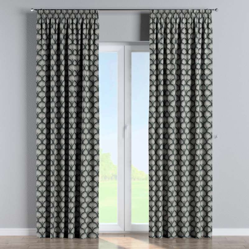 Pencil pleat curtain in collection Comics/Geometrical, fabric: 143-74