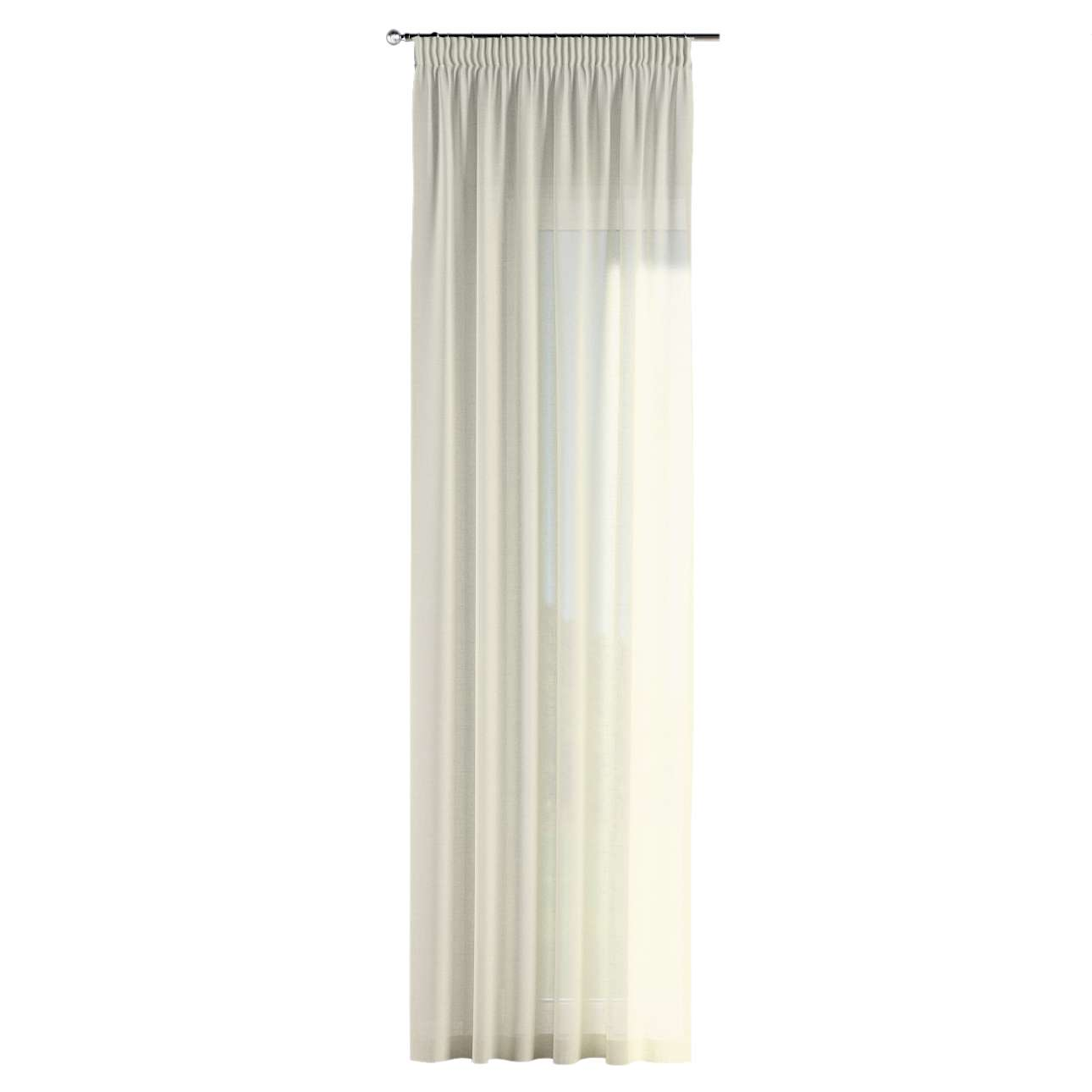 Pencil pleat curtains 130 x 260 cm (51 x 102 inch) in collection Romantica, fabric: 128-88