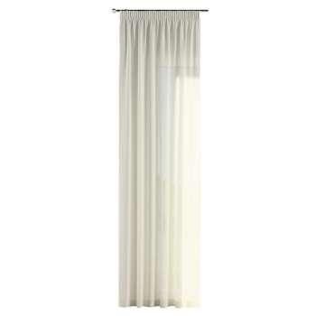 Gardin med rynkband 1 längd 130 x 260 cm i kollektionen Romantica, Tyg: 128-88
