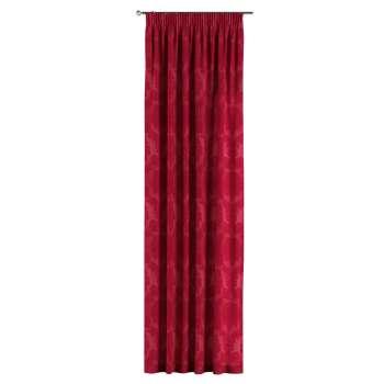 Vorhang mit Kräuselband von der Kollektion Damasco, Stoff: 613-13