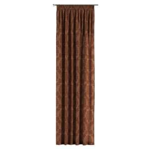 Vorhang mit Kräuselband 130 x 260 cm von der Kollektion Damasco, Stoff: 613-88