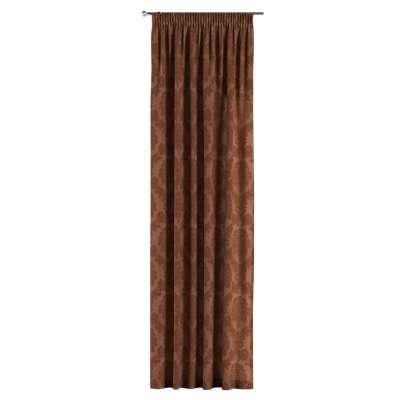 Záves na riasiacej páske V kolekcii Damasco, tkanina: 613-88