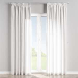 Pencil pleat curtains 130 x 260 cm (51 x 102 inch) in collection Jupiter, fabric: 127-01