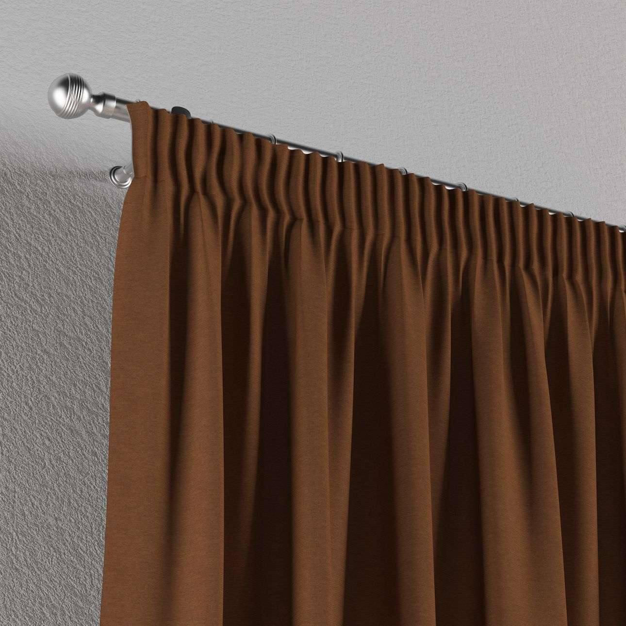 Pencil pleat curtains 130 x 260 cm (51 x 102 inch) in collection Jupiter, fabric: 127-88