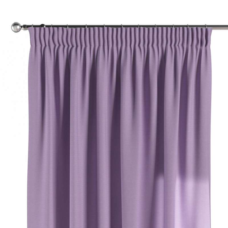 Pencil pleat curtain in collection Jupiter, fabric: 127-74