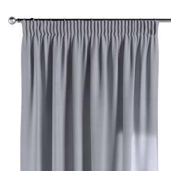 Pencil pleat curtains 130 x 260 cm (51 x 102 inch) in collection Jupiter, fabric: 127-92