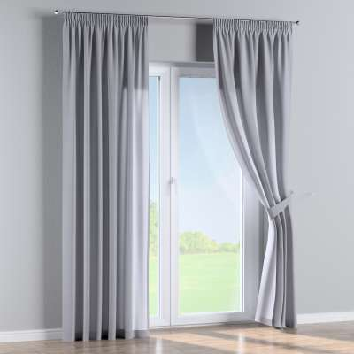 Pencil pleat curtains in collection Jupiter, fabric: 127-92