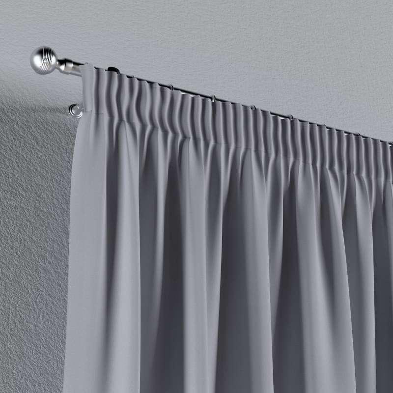 Vorhang mit Kräuselband von der Kollektion Jupiter, Stoff: 127-92