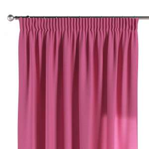 Pencil pleat curtains 130 x 260 cm (51 x 102 inch) in collection Jupiter, fabric: 127-24