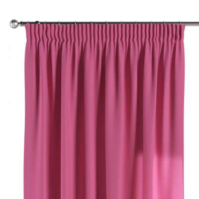 Pencil pleat curtains in collection Jupiter, fabric: 127-24