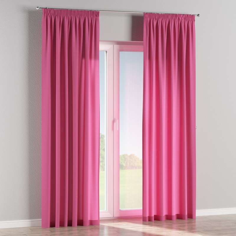 Pencil pleat curtain in collection Jupiter, fabric: 127-24