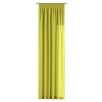 Pencil pleat curtains 130 × 260 cm (51 × 102 inch) in collection Jupiter, fabric: 127-50