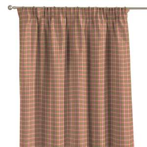 Pencil pleat curtains 130 x 260 cm (51 x 102 inch) in collection Bristol, fabric: 126-25