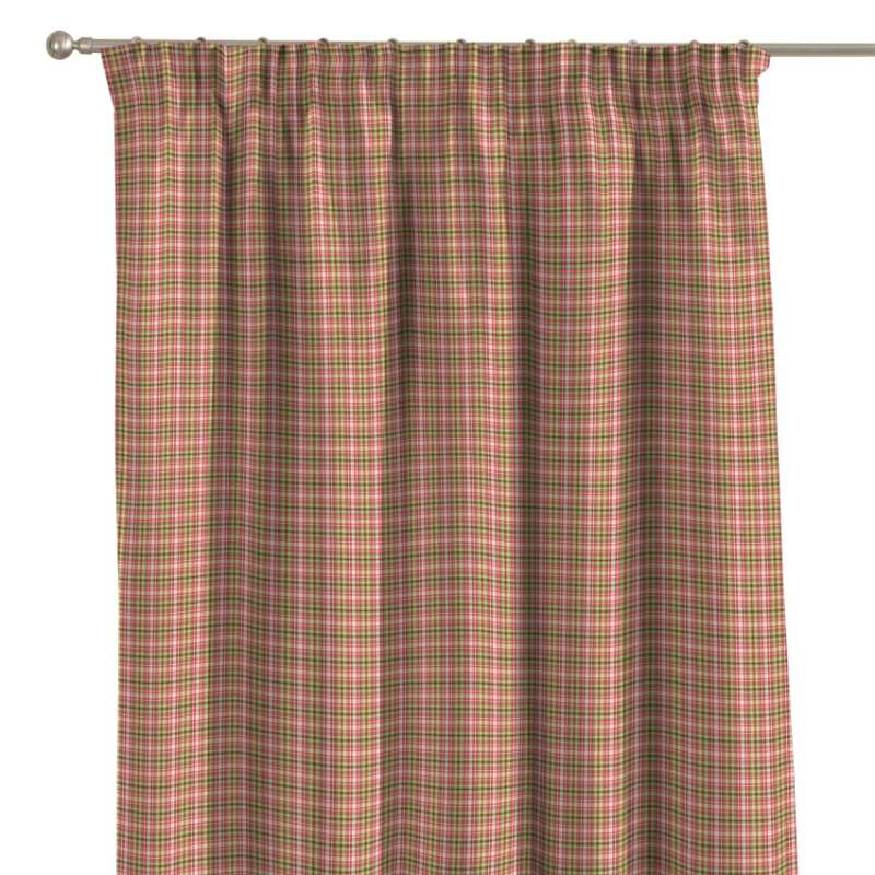 Pencil pleat curtain in collection Bristol, fabric: 126-25
