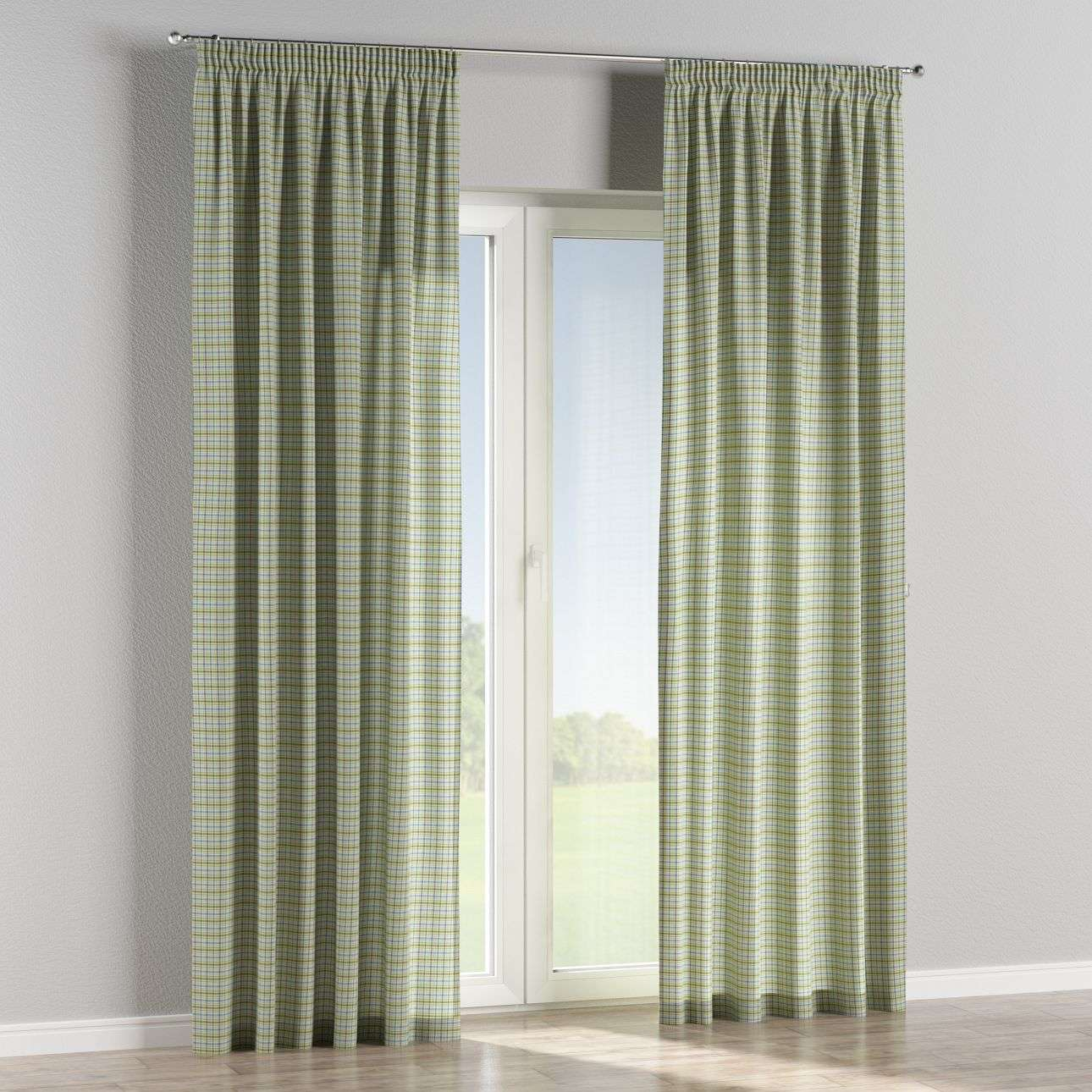 Pencil pleat curtains 130 × 260 cm (51 × 102 inch) in collection Bristol, fabric: 126-69
