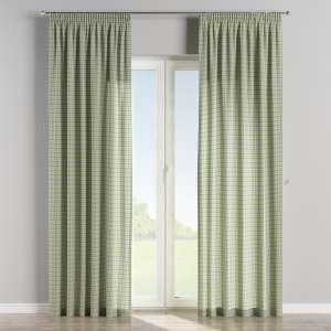 Pencil pleat curtains 130 x 260 cm (51 x 102 inch) in collection Bristol, fabric: 126-69