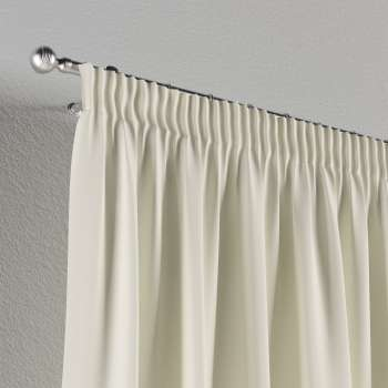 Pencil pleat curtains in collection Jupiter, fabric: 127-00