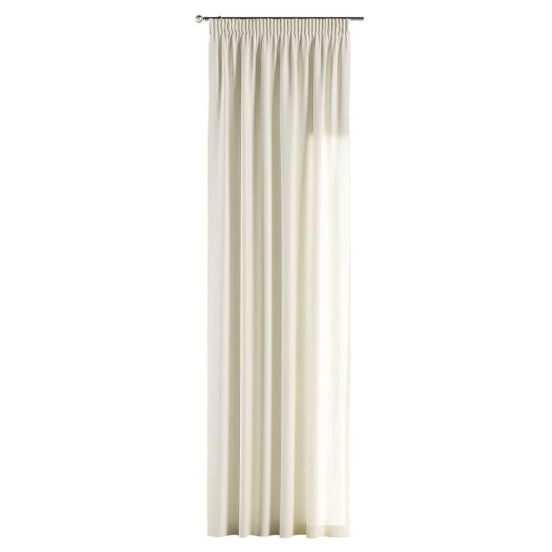 Vorhang mit Kräuselband von der Kollektion Jupiter, Stoff: 127-00
