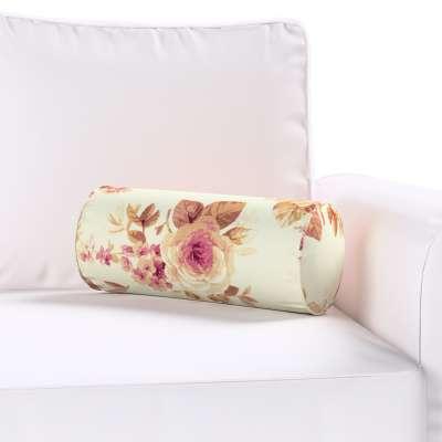Basic hengerpárna 141-06 bordó, bézs rózsák krémszínű alapon Méteráru Londres Bútorszövet