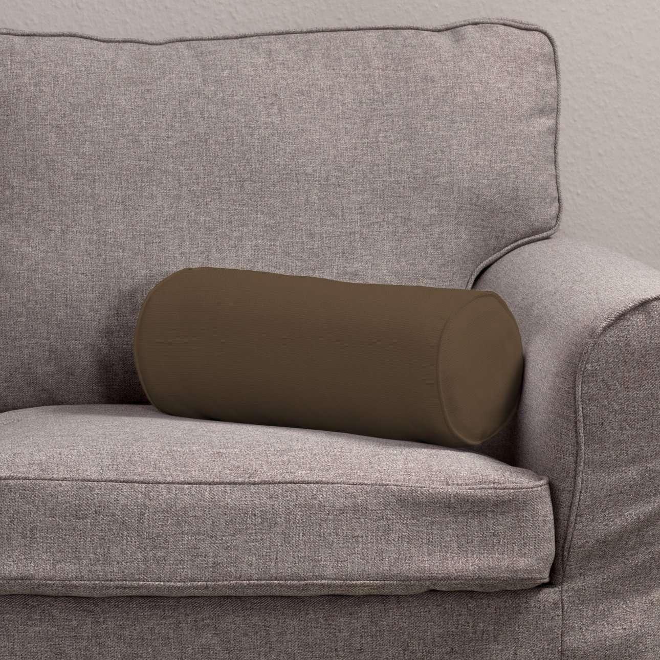 Einfache Nackenrolle Ø 16 x 40 cm von der Kollektion Cotton Panama, Stoff: 702-02