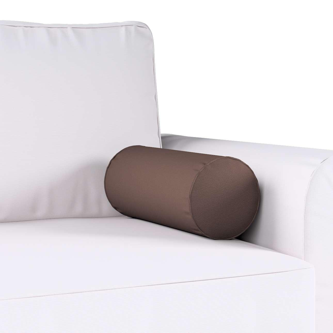 Poduszka wałek prosty Ø16x40cm w kolekcji Cotton Panama, tkanina: 702-03
