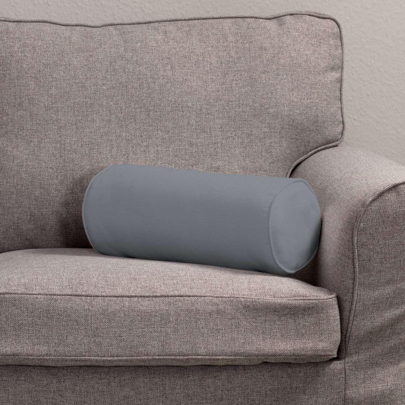 Einfache Nackenrolle Ø 16 x 40 cm von der Kollektion Cotton Panama, Stoff: 702-07