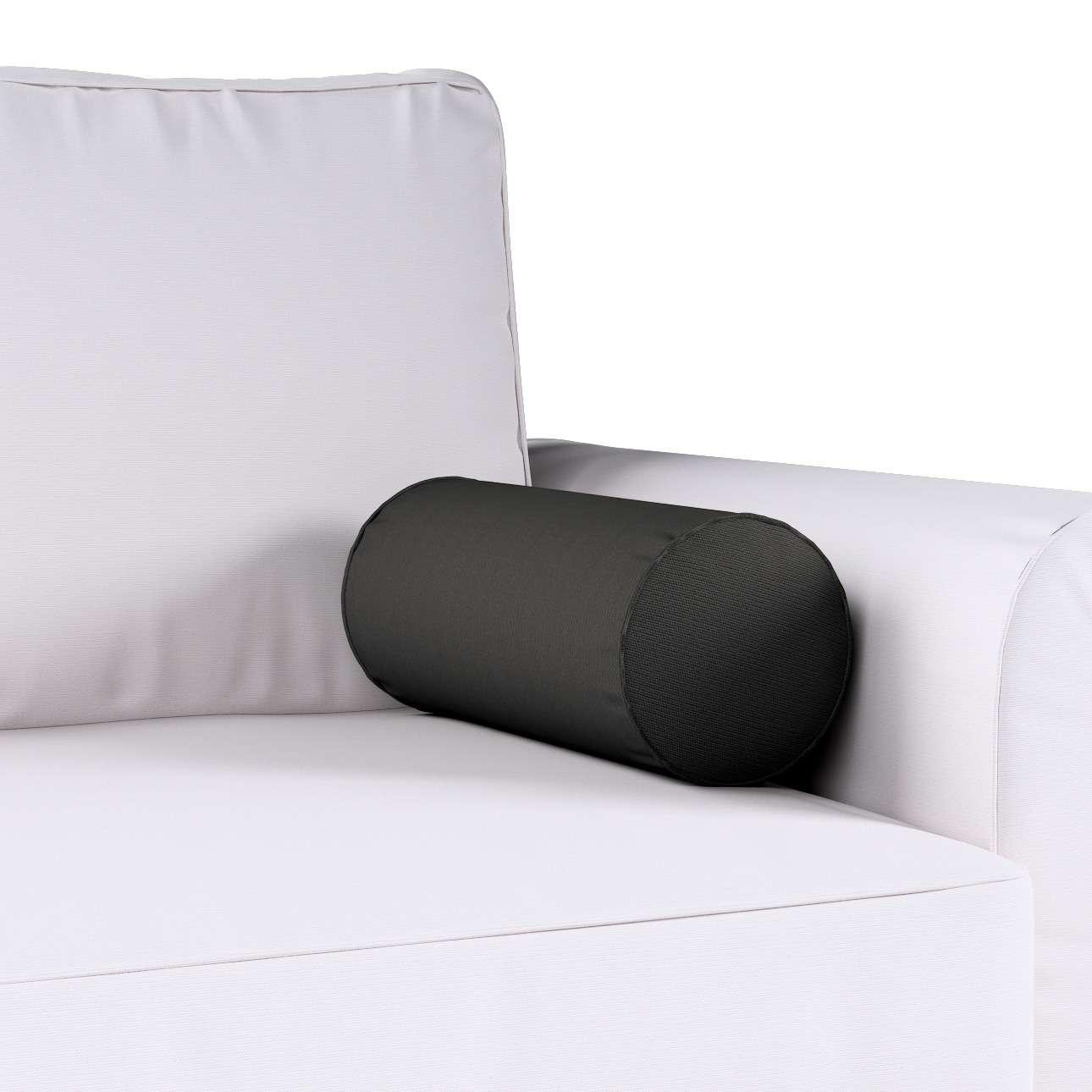 Poduszka wałek prosty Ø16x40cm w kolekcji Cotton Panama, tkanina: 702-08