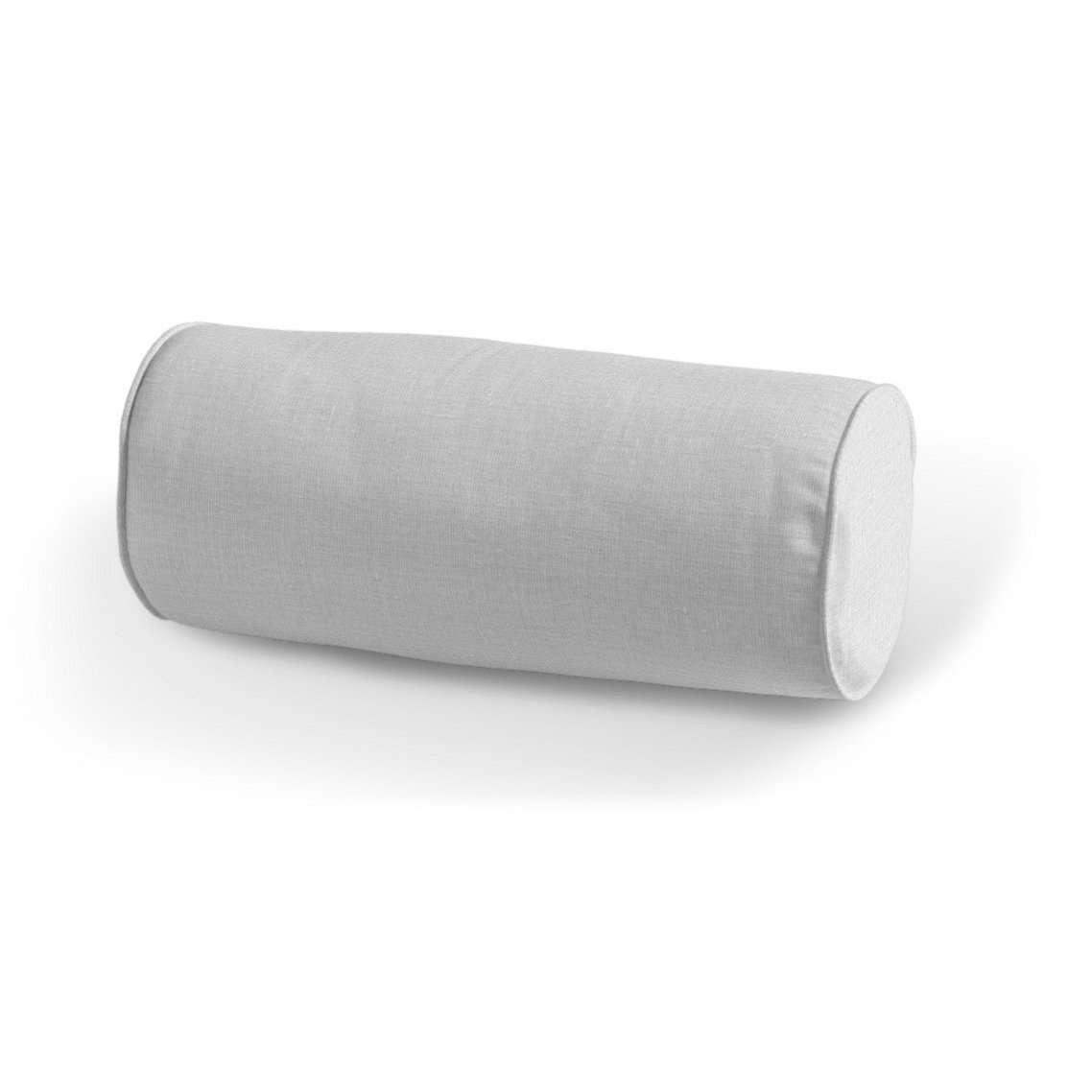 Einfache Nackenrolle Ø 16 x 40 cm von der Kollektion Leinen, Stoff: 392-04