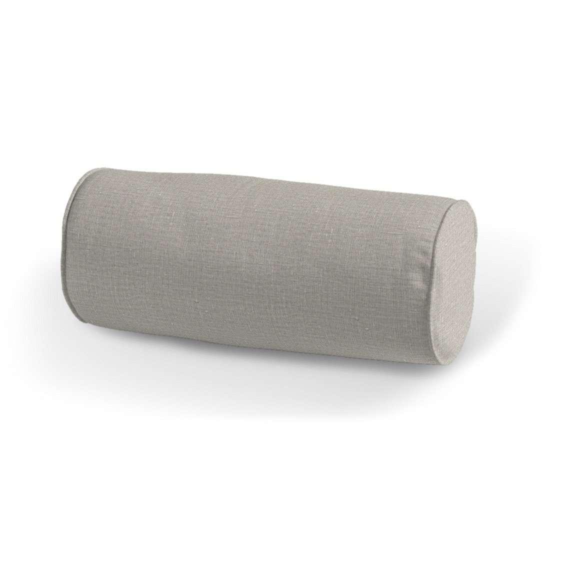 Wałek prosty Ø 16 x 40 cm w kolekcji Linen, tkanina: 392-05