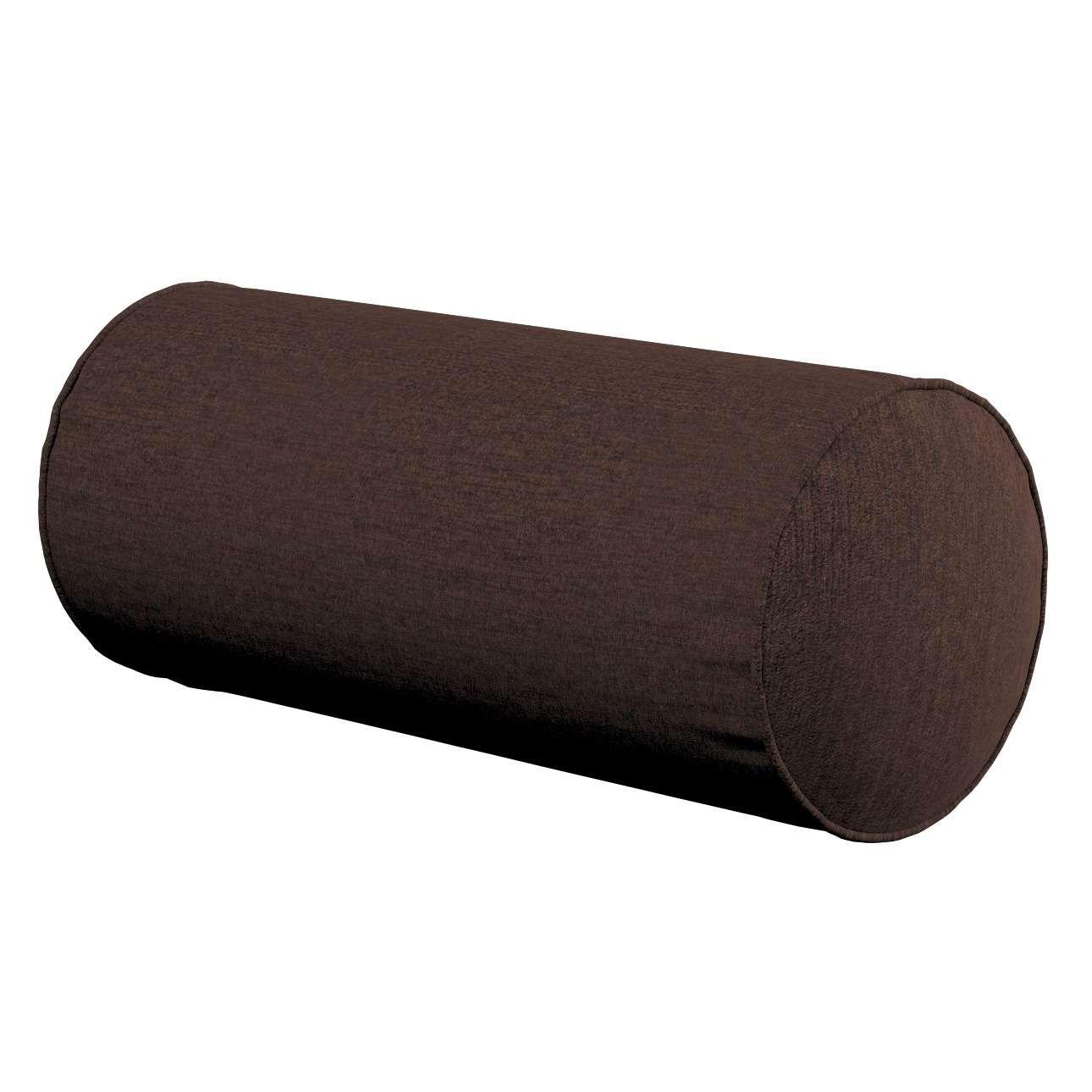Poduszka wałek prosty Ø16x40cm w kolekcji Chenille, tkanina: 702-18