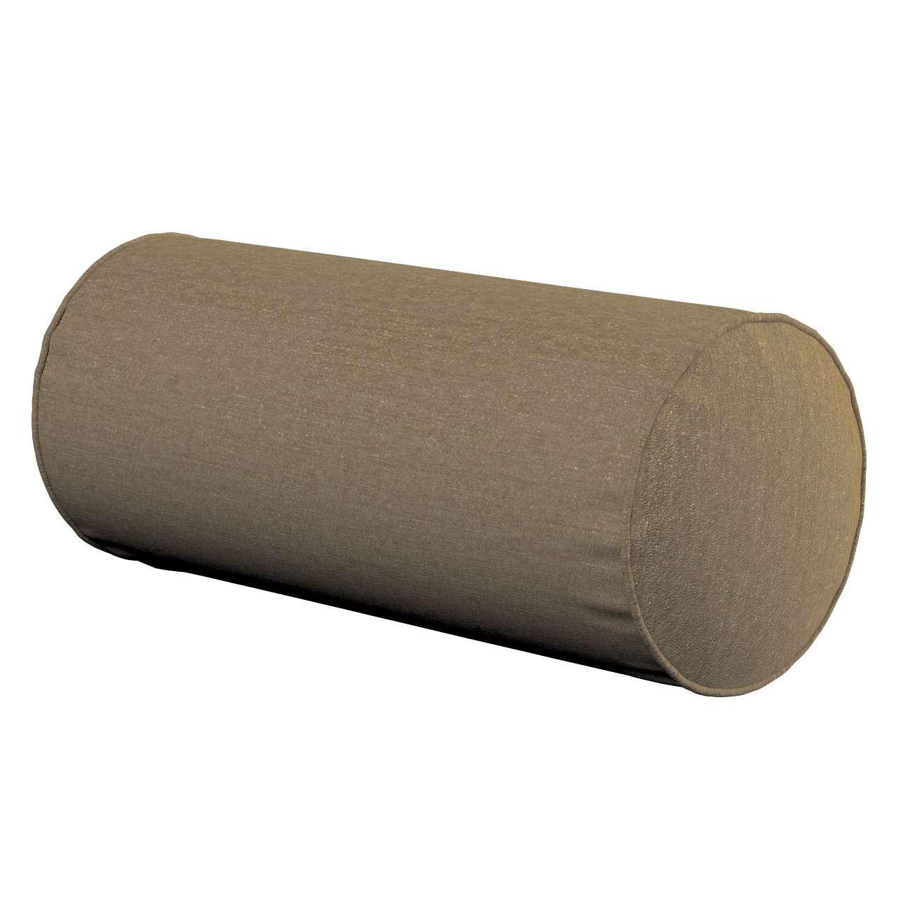 Poduszka wałek prosty Ø16x40cm w kolekcji Chenille, tkanina: 702-21