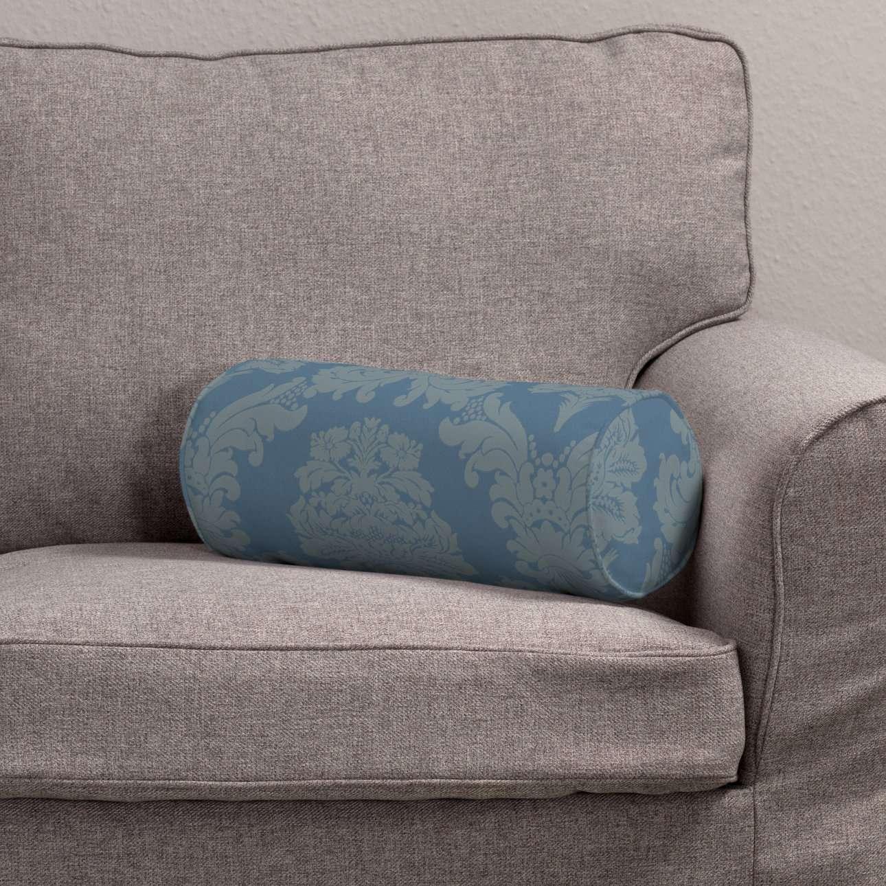 Poduszka wałek prosty w kolekcji Damasco, tkanina: 613-67