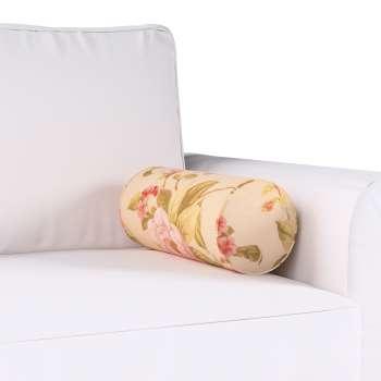 Poduszka wałek prosty Ø16x40cm w kolekcji Londres, tkanina: 123-05