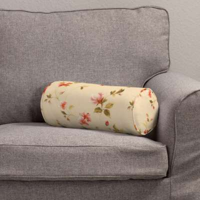 Ritinio formos  pagalvėlė 124-05 gėlės gelsvai kreminiame fone Kolekcija Londres