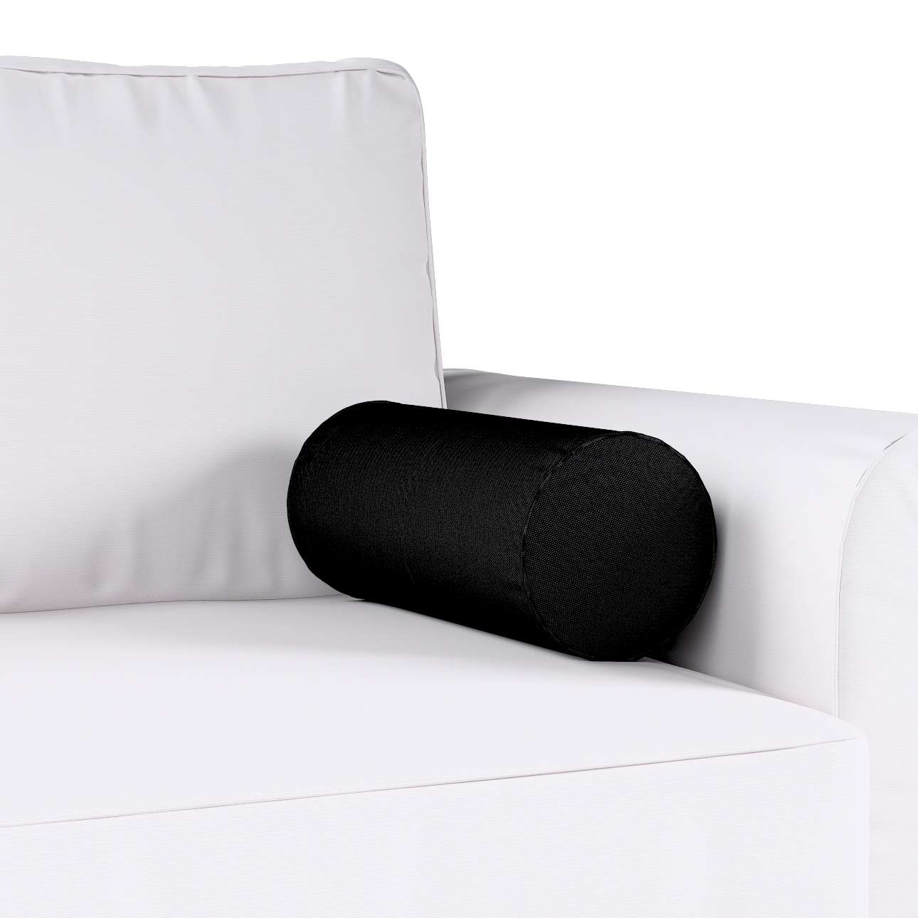 Poduszka wałek prosty Ø16x40cm w kolekcji Etna , tkanina: 705-00