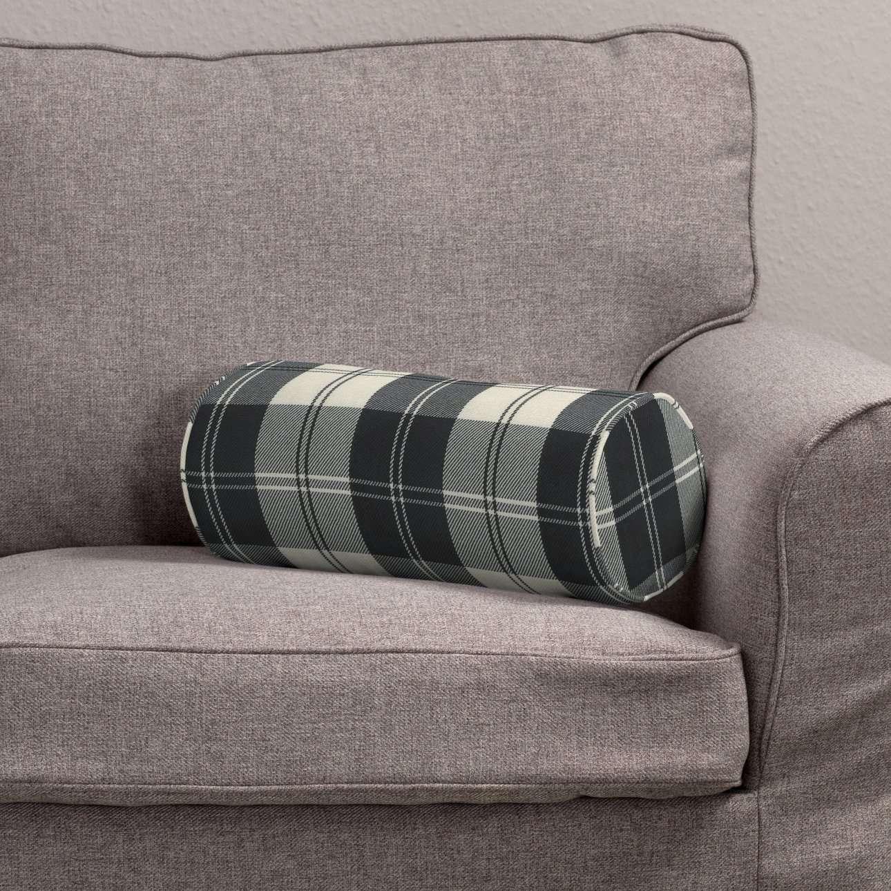 Poduszka wałek prosty Ø16x40cm w kolekcji Edinburgh, tkanina: 115-74