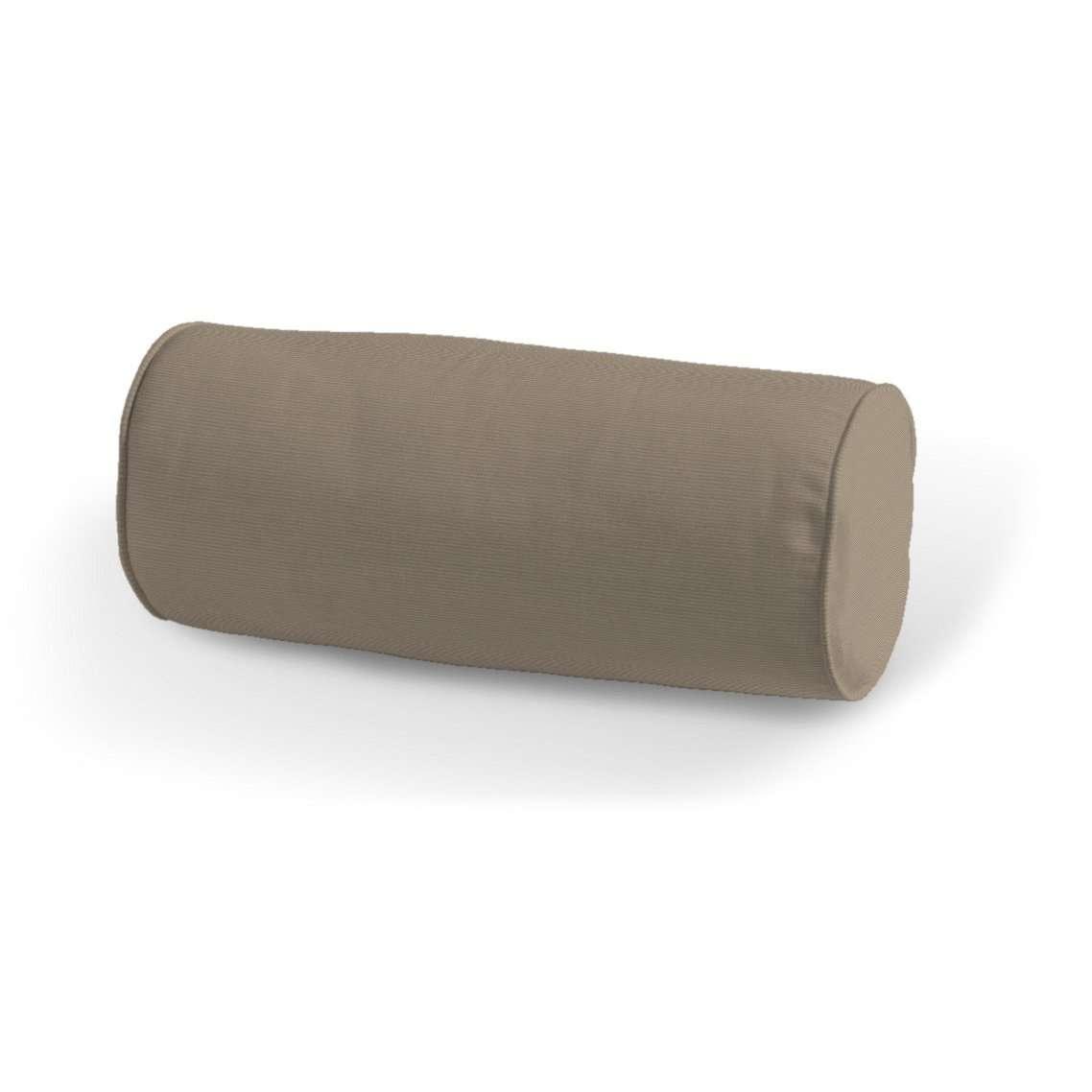 Einfache Nackenrolle Ø 16 x 40 cm von der Kollektion Cotton Panama, Stoff: 702-28