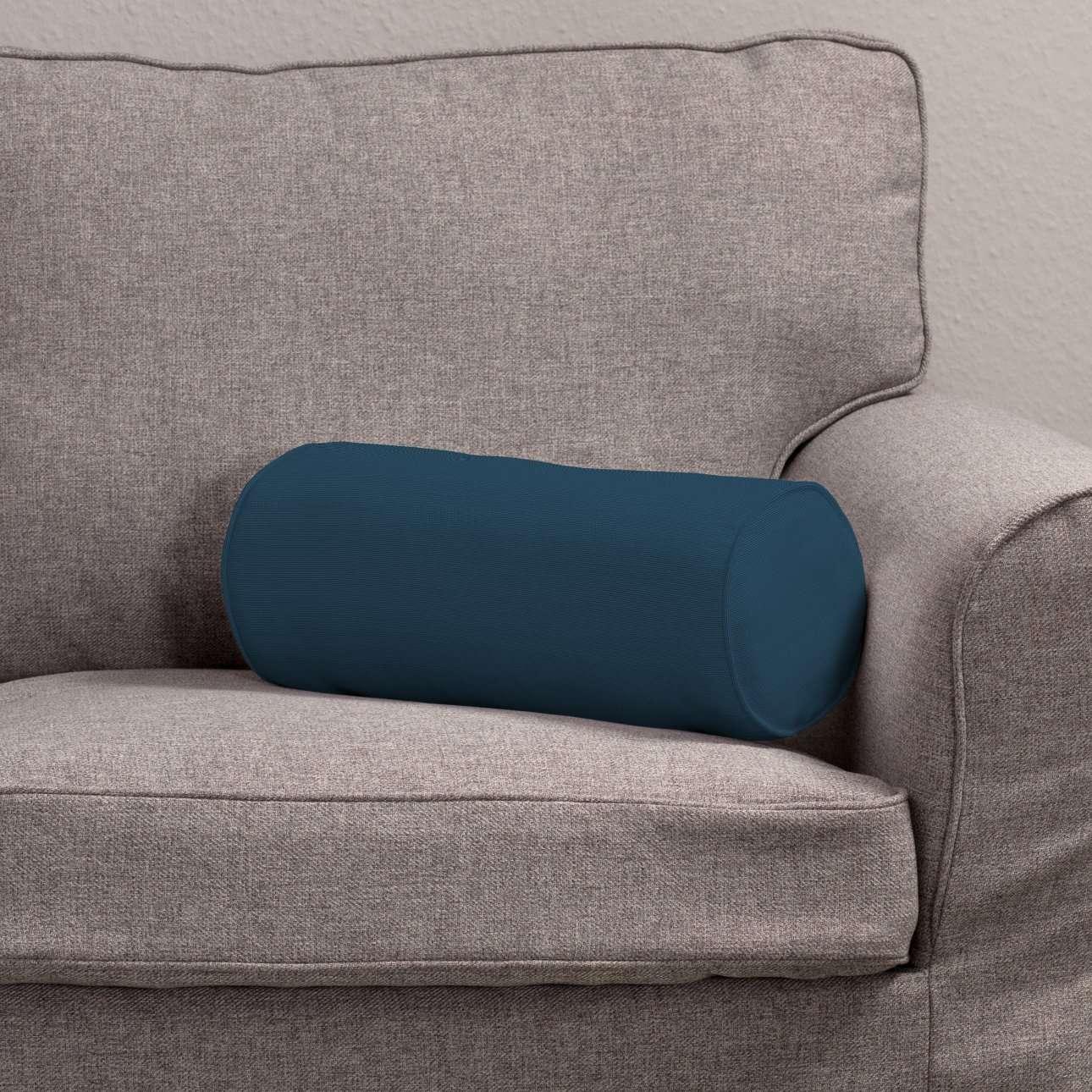 Poduszka wałek prosty Ø16x40cm w kolekcji Cotton Panama, tkanina: 702-30