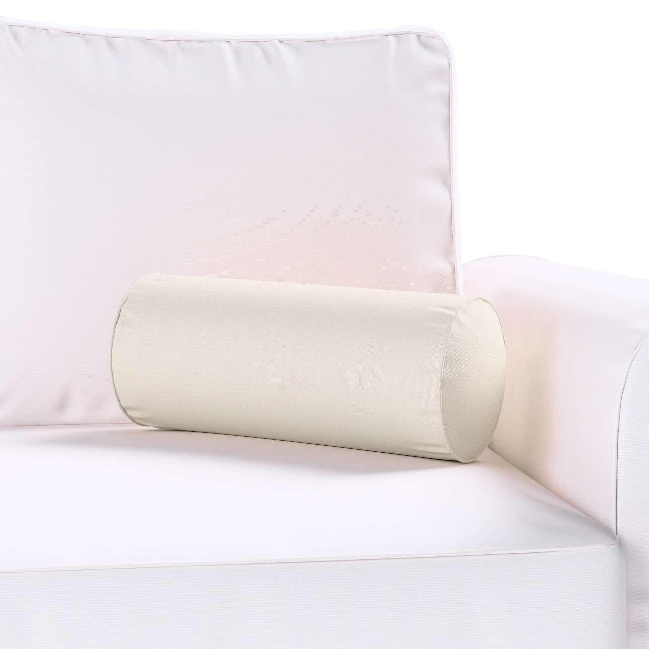 Einfache Nackenrolle Ø 16 x 40 cm von der Kollektion Cotton Panama, Stoff: 702-31