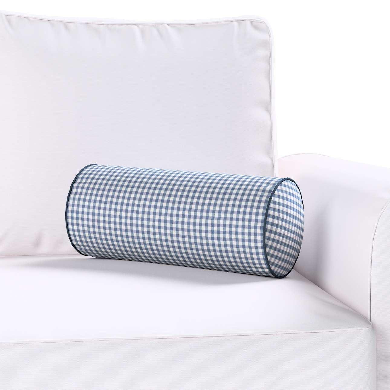 Ritinio formos  pagalvėlės užvalkalas Ø 16 x 40 cm (6 x 16 inch) kolekcijoje Quadro, audinys: 136-00