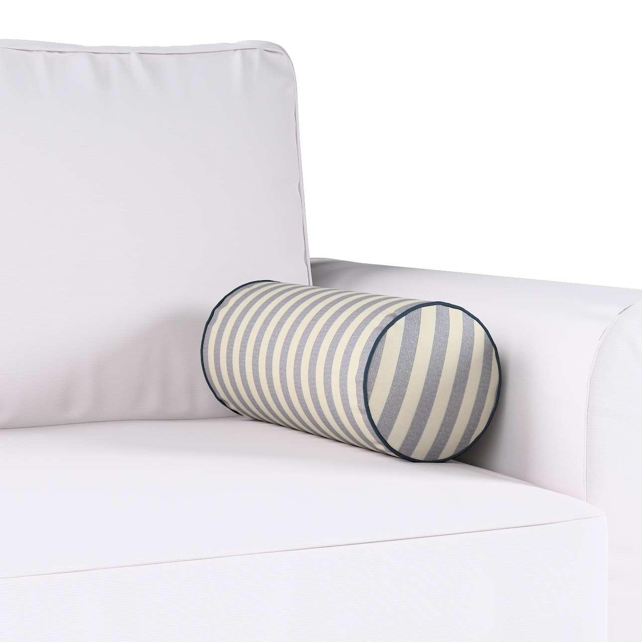Poduszka wałek prosty Ø16x40cm w kolekcji Quadro, tkanina: 136-02