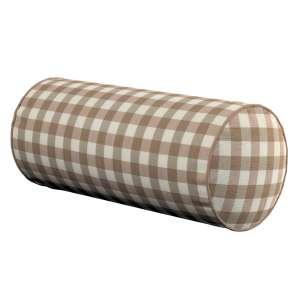 Ritinio formos  pagalvėlės užvalkalas Ø 16 x 40 cm (6 x 16 inch) kolekcijoje Quadro, audinys: 136-06
