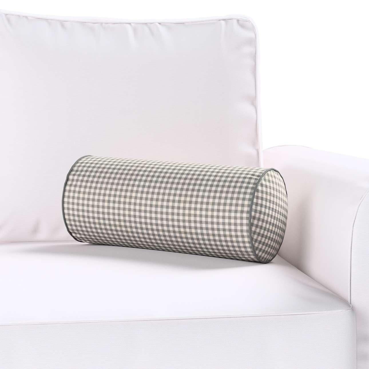 Ritinio formos  pagalvėlės užvalkalas Ø 16 x 40 cm (6 x 16 inch) kolekcijoje Quadro, audinys: 136-10