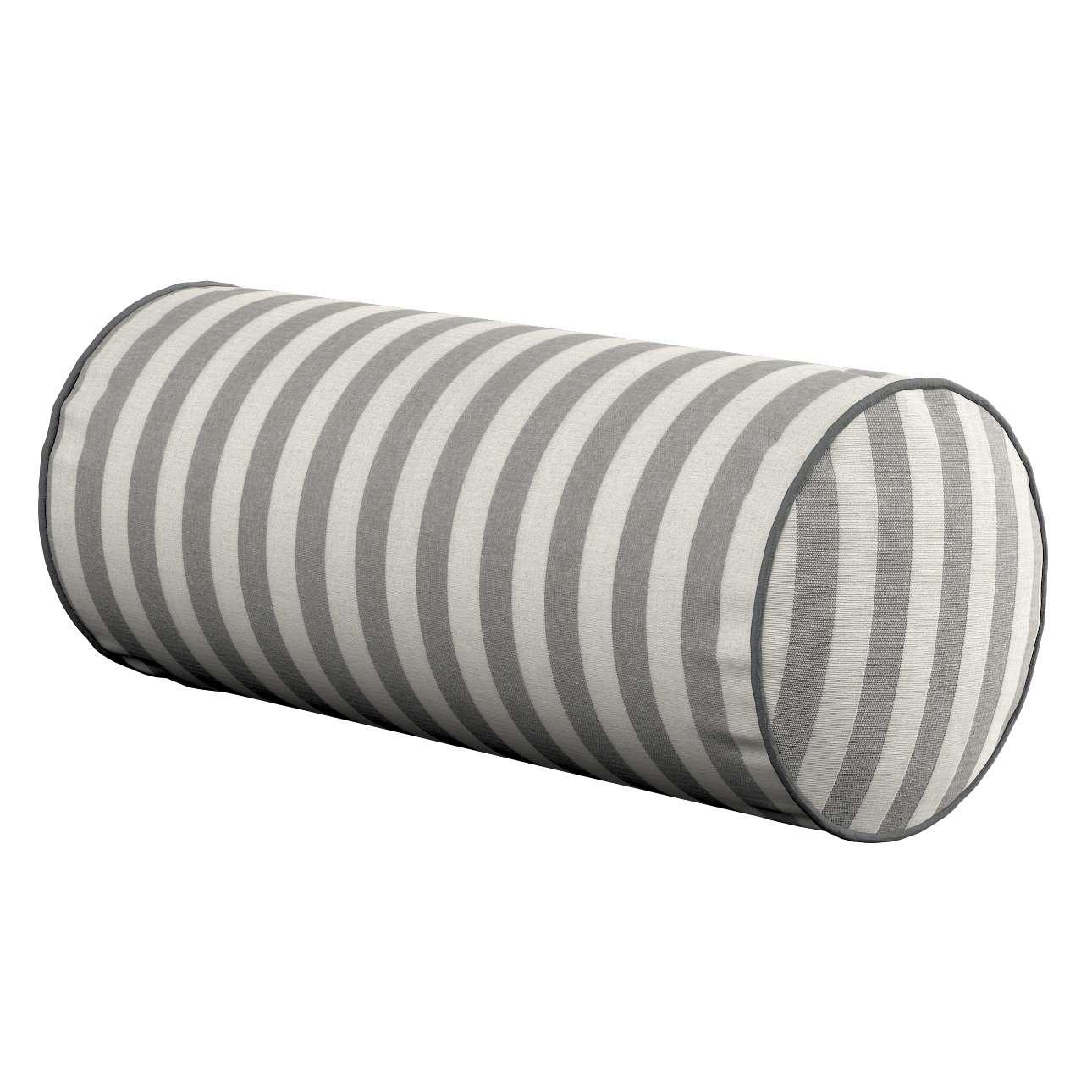 Poduszka wałek prosty Ø 16 x 40 cm w kolekcji Quadro, tkanina: 136-12