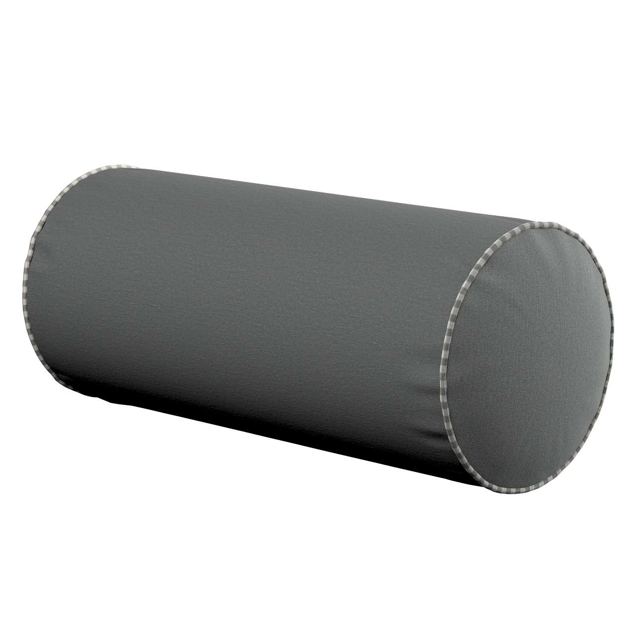 Einfache Nackenrolle Ø 16 x 40 cm von der Kollektion Quadro, Stoff: 136-14