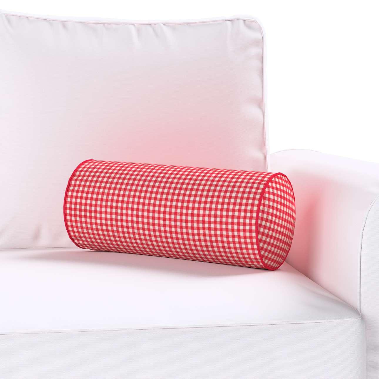 Ritinio formos  pagalvėlės užvalkalas Ø 16 x 40 cm (6 x 16 inch) kolekcijoje Quadro, audinys: 136-15