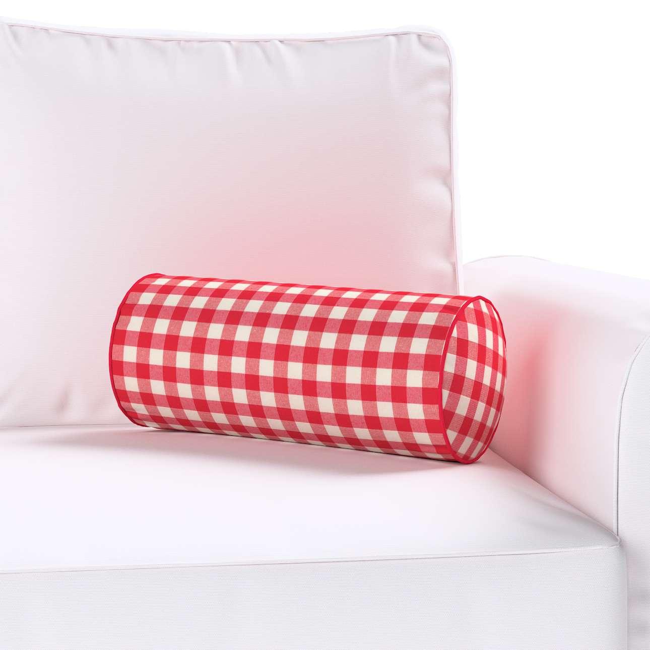 Ritinio formos  pagalvėlė Ø 16 x 40 cm (6 x 16 inch) kolekcijoje Quadro, audinys: 136-16