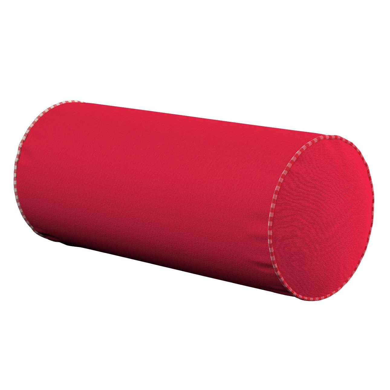 Bolster cushion  Ø 16 × 40 cm (6 × 16 inch) in collection Quadro, fabric: 136-19